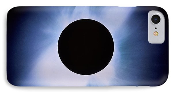 Total Solar Eclipse Phone Case by Rev. Ronald Royer
