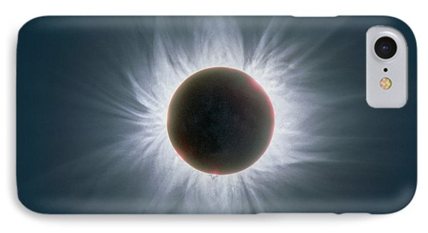 Total Solar Eclipse With Corona Phone Case by Dr Fred Espenak