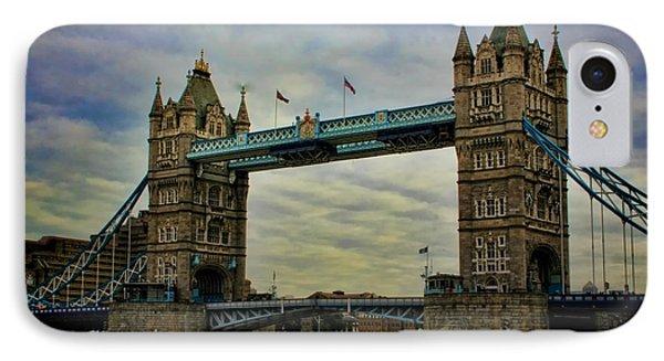 Tower Bridge London Phone Case by Heather Applegate