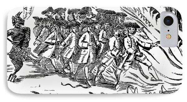 Townsend Act Cartoon, 1768 Phone Case by Granger