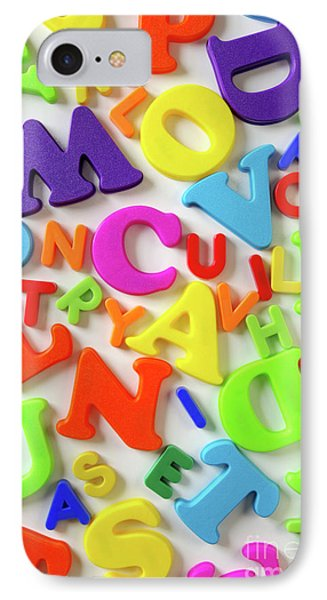 Toy Letters Phone Case by Carlos Caetano