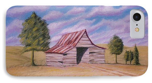 Tractor Shed IPhone Case by Stacy C Bottoms