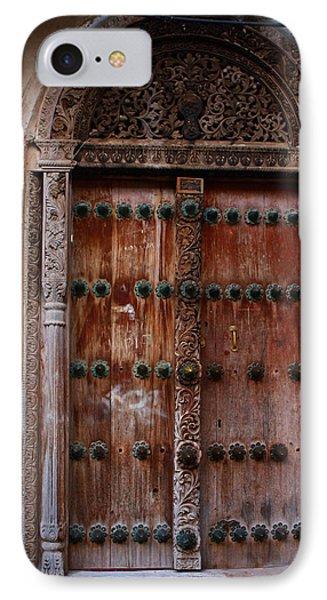Traditional Carved Door Phone Case by Aidan Moran