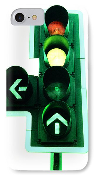 Traffic Lights Phone Case by Kevin Curtis