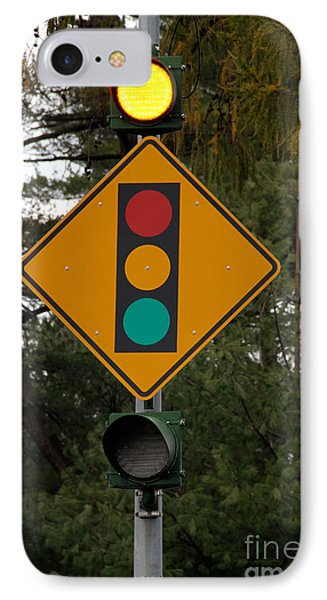 Traffic Sign Phone Case by Photo Researchers