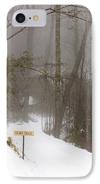 Trailhead Covered With Snow Phone Case by Will and Deni McIntyre