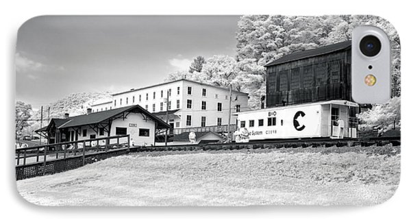 IPhone Case featuring the photograph Train Depot by Mary Almond