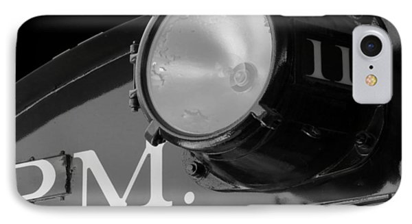 IPhone Case featuring the photograph Train Headlight by Darleen Stry