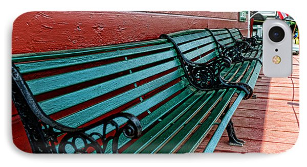 Train Station Waiting Area Phone Case by Paul Ward