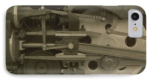 Train Wheels Phone Case by Photo Researchers
