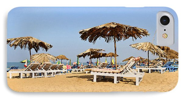 Tranquil Calangute Phone Case by Kantilal Patel