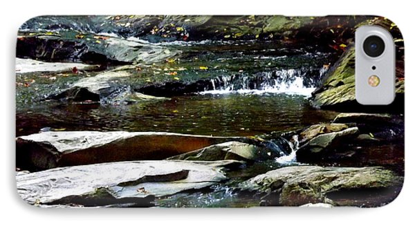 IPhone Case featuring the photograph Tranquil River In Asheville Nc by Jodi Terracina