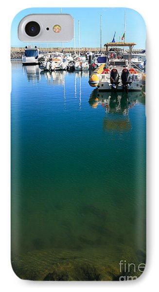 Tranquility At The Marina Phone Case by Gaspar Avila