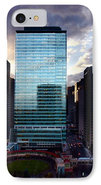 Transcanada Tower IPhone Case by JM Photography