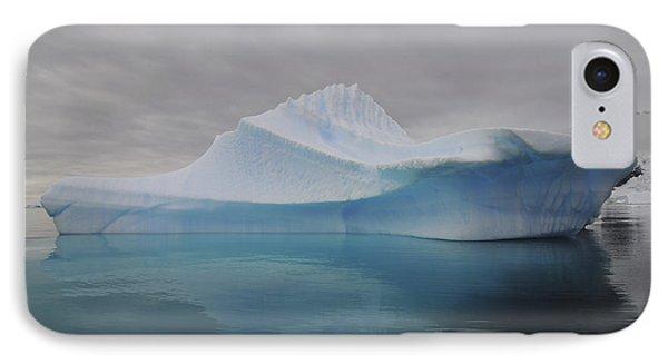 Translucent Blue Iceberg Reflection Phone Case by Mathieu Meur