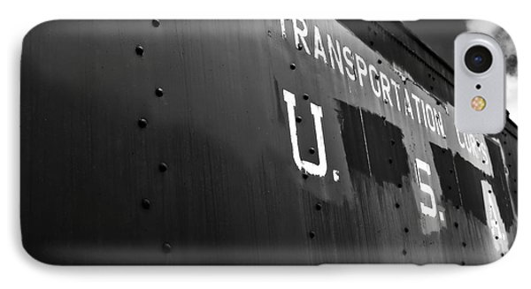 Transportation Corps Car IPhone Case by Dariusz Gudowicz