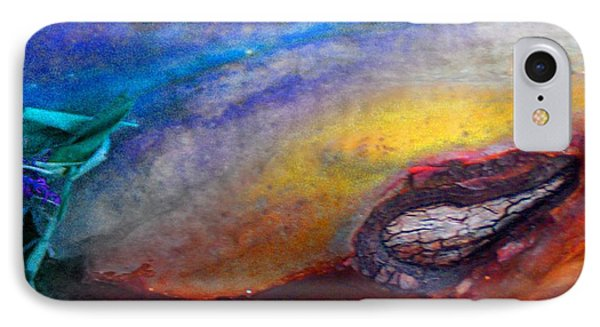 IPhone Case featuring the digital art Travel by Richard Laeton