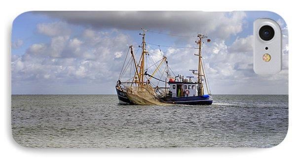 trawler - Sylt IPhone Case by Joana Kruse