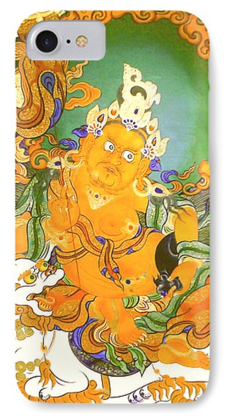 Treasurer Of The Gods - Kubera 20 IPhone Case by Lanjee Chee