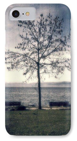 tree at lake Constance Phone Case by Joana Kruse