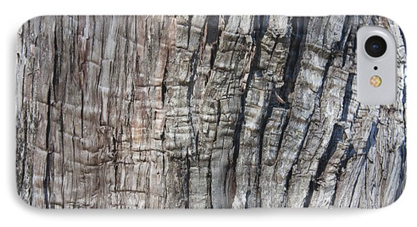 Tree Bark No. 1 Stress Lines IPhone Case by Lynn Palmer