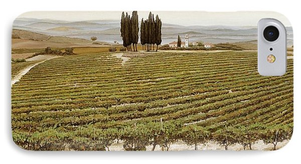 Tree Circle - Tuscany  IPhone Case by Trevor Neal