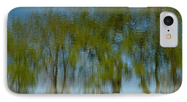 Tree Line Reflections IPhone Case
