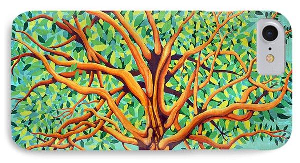 Tree Of Life Phone Case by Fraida Gutovich