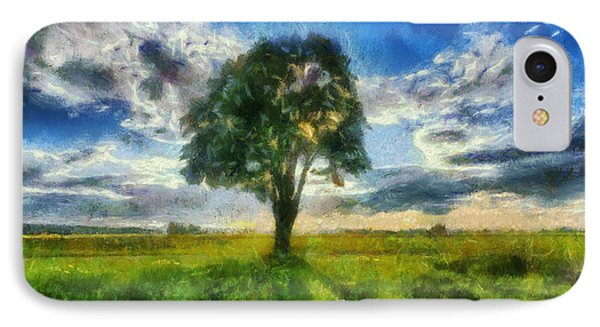IPhone Case featuring the painting Tree Of Life by Joe Misrasi
