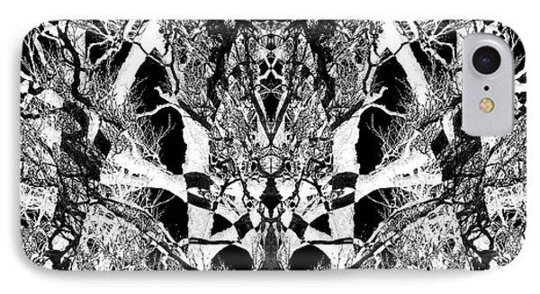 Tree Patterns IPhone Case by Michele Cornelius
