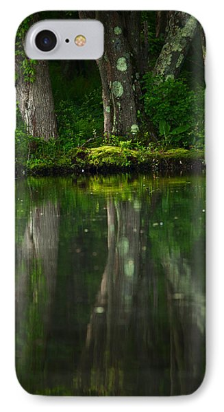 Tree Trunks Phone Case by Karol Livote
