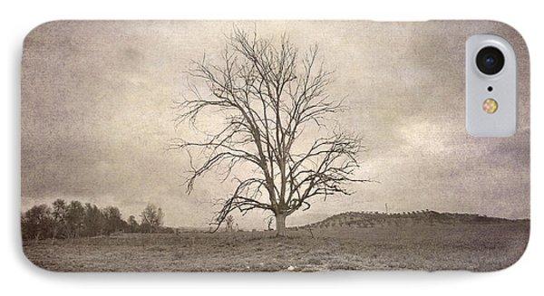 Tree Under The Rain Phone Case by Guido Montanes Castillo