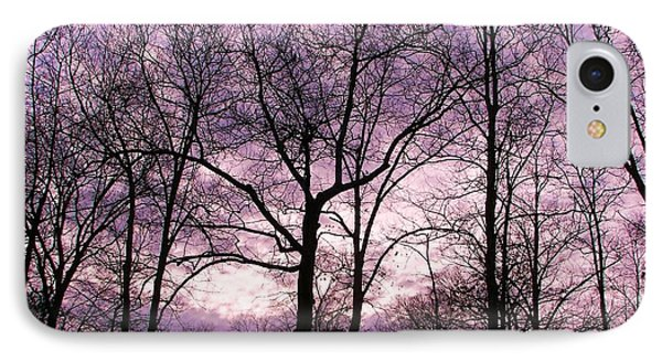 IPhone Case featuring the photograph Trees In Glorious Calm by Pamela Hyde Wilson