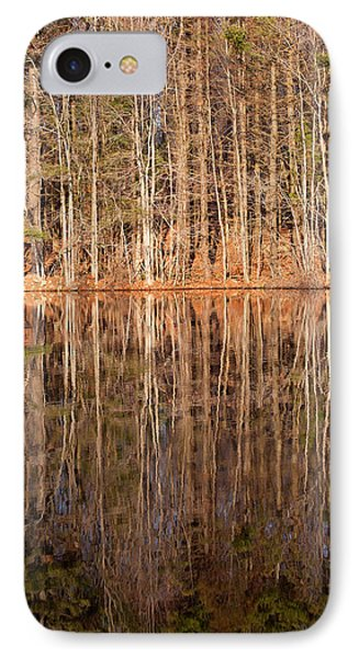 Trees In The Comfort Of Trees Phone Case by Karol Livote