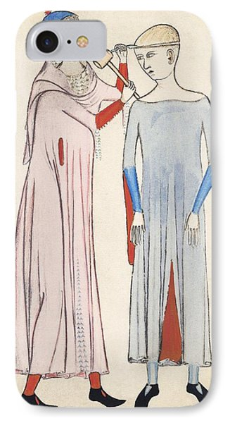 Trepanation, 14th Century Artwork Phone Case by Sheila Terry