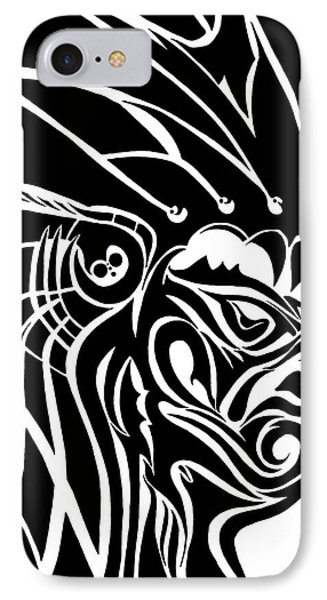 Tribal Leader IPhone Case by Jack Norton