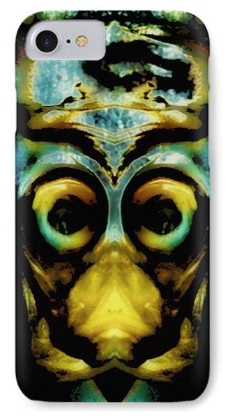 Tribal Mask Phone Case by Skip Nall