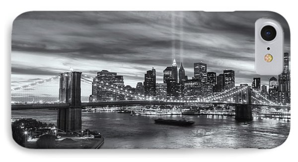 Tribute In Light V Phone Case by Clarence Holmes
