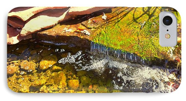 Trickle Waterfall Phone Case by Usha Shantharam