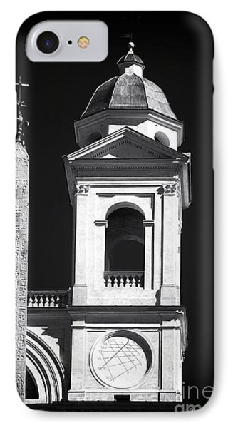 Trinita Church Tower Phone Case by John Rizzuto