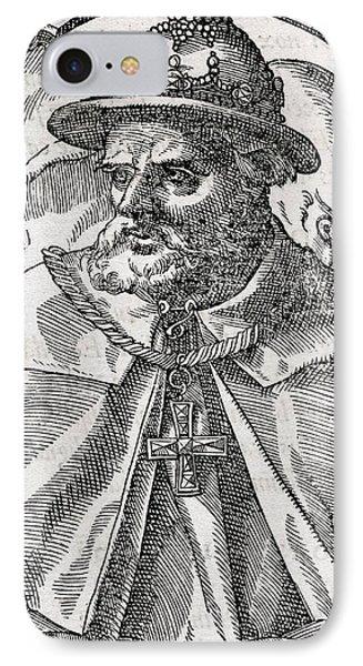 Tristao Da Cunha, Portuguese Explorer Phone Case by Middle Temple Library