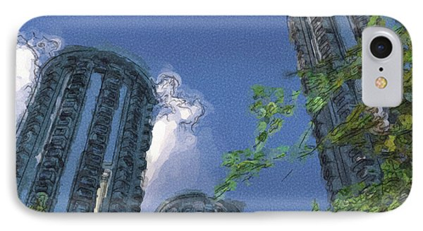 Triton Towers Phone Case by Richard Rizzo