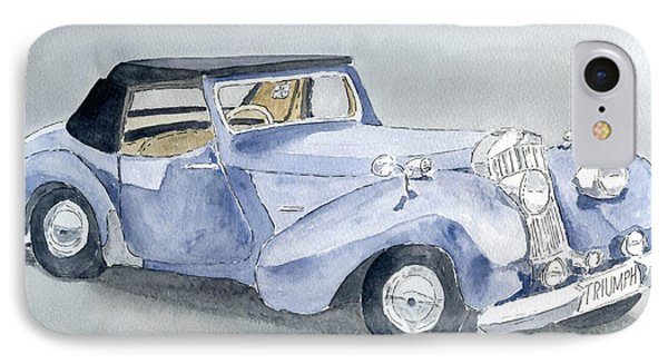 Triumph Roadster 45-49 IPhone Case