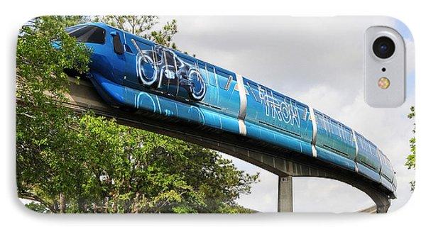 Tron A Rail IPhone Case by David Lee Thompson