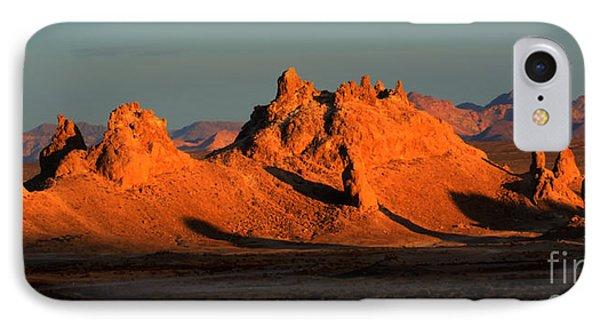 Trona Pinnacles Panorama Phone Case by Bob Christopher