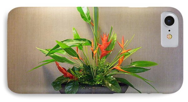 Tropical Arrangement Phone Case by Mary Deal