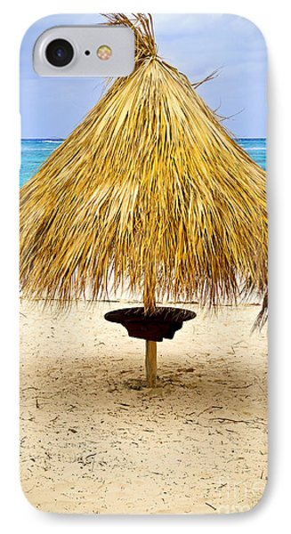 Tropical Beach Umbrella IPhone Case