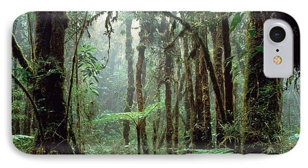 Tropical Cloud Forest Phone Case by Gregory G. Dimijian