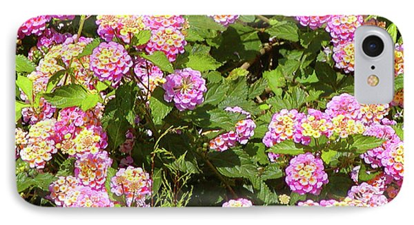 IPhone Case featuring the photograph Tropical Lantana by Roena King