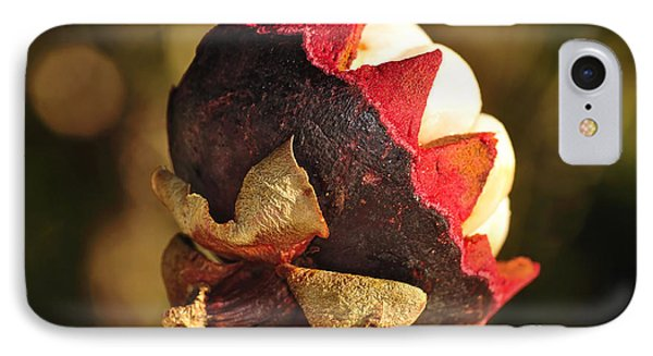 Tropical Mangosteen - The Medicinal Fruit Phone Case by Kaye Menner